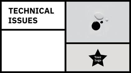 Tech Issues — Black Star Theme