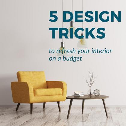 Interior Design Tricks
