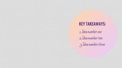 Key Takeaways — Yogurt Theme