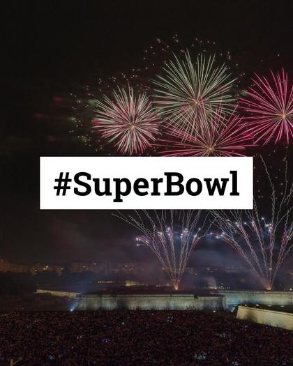 Superbowl Hashtags