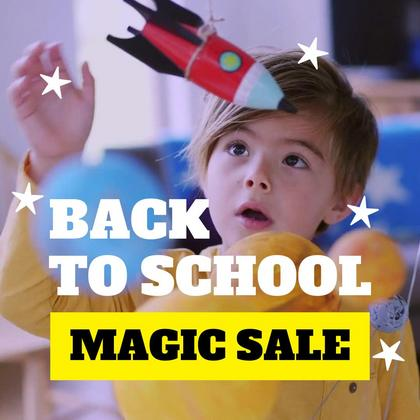 Magic Back to School Sale