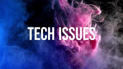 Tech Issues — Neon Smoke Theme