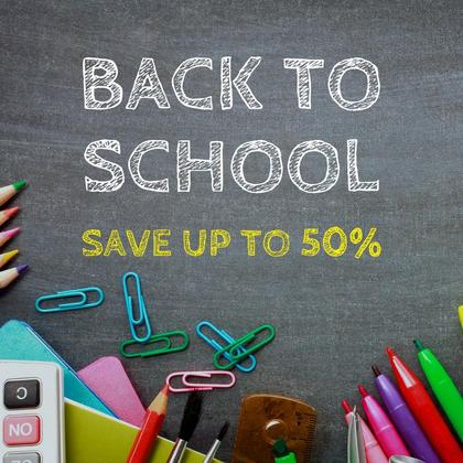 Back-to-school Discount