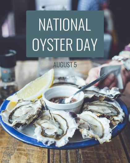 National Oyster Day