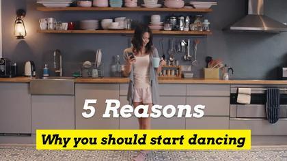 5 Reasons Why You Should Start Dancing
