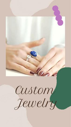 Custom Jewelry Ad