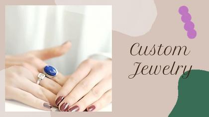 Custom Jewelry Ad