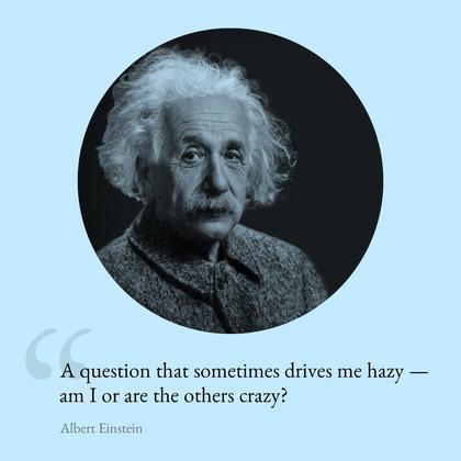 Einstein Quote Video