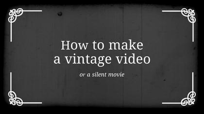 Vaudeville Video