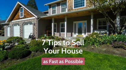 7 Tips for Selling Your House
