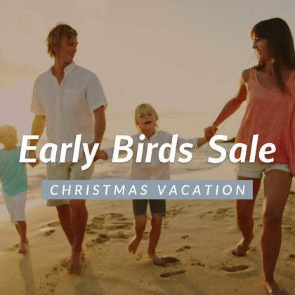 Early Birds Sale