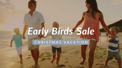 Early Birds Sale