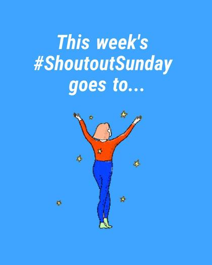 #ShoutoutSunday