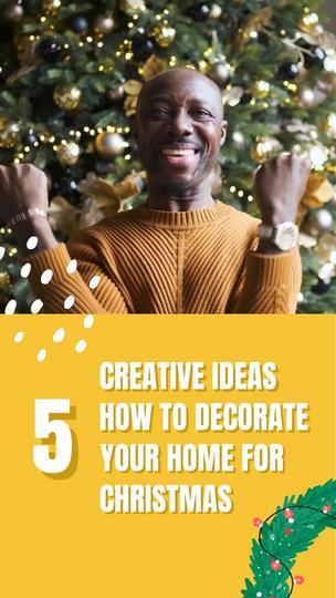 5 Christmas Home Decor Ideas