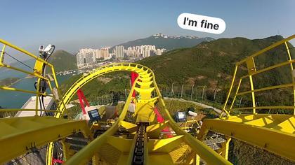 Virtual Roller Coaster Ride