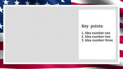Key Points — US Flag Theme
