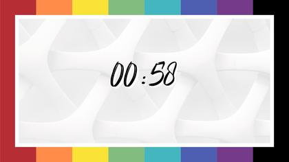 Countdown — Color Bars Theme
