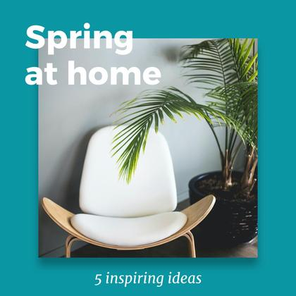 5 Spring Home Decorating Ideas