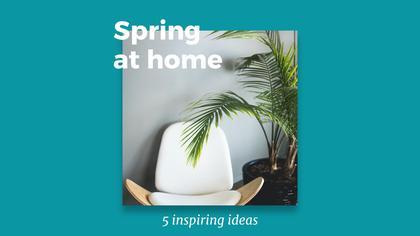 5 Spring Home Decorating Ideas