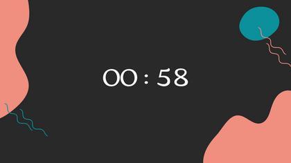 Countdown — Dark Peach Theme