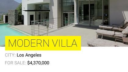 Modern Villa Listing