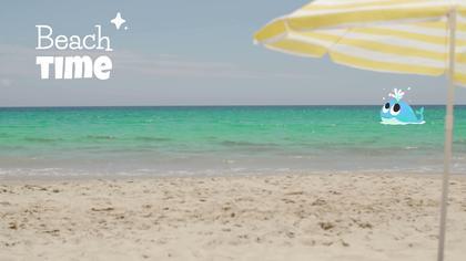 Beach Video Background