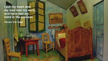 Van Gogh 'The Bedroom'