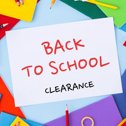 Back to School Clearance