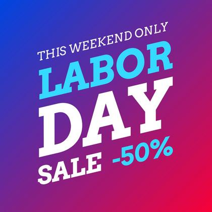 Labor Day Offer