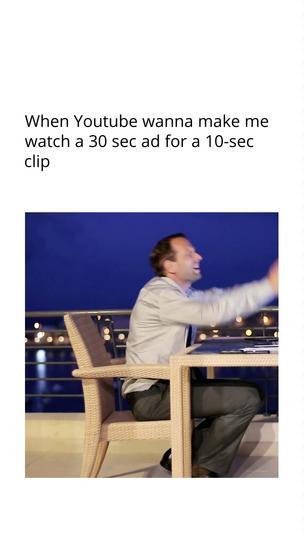 YouTube ad meme