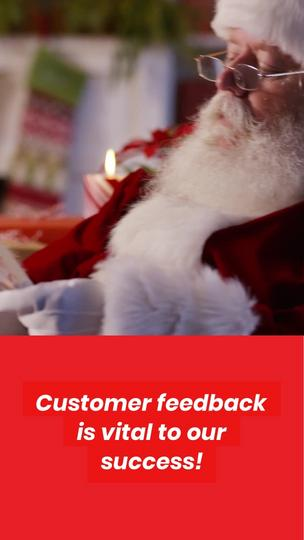 Holiday Customer Feedback