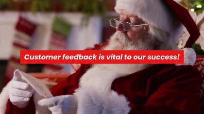 Holiday Customer Feedback