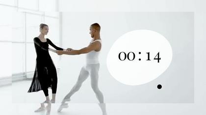 Countdown — Subtle B/W Theme