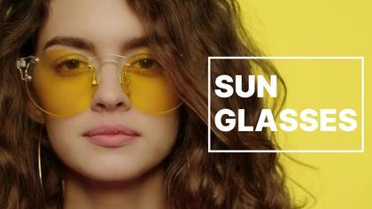 Sunglasses Product Demonstration