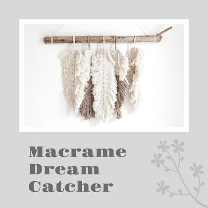 Macrame Dream Catcher