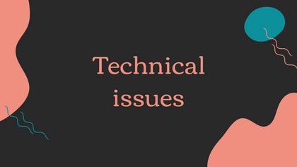Tech Issues — Dark Peach Theme