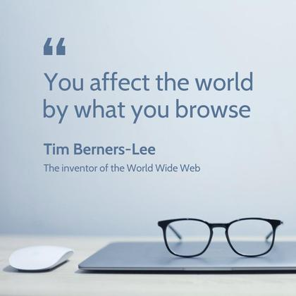 The World Wide Web Quote