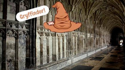 Sorting Hat Virtual Background