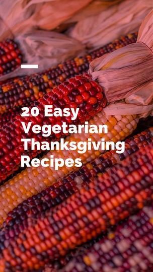 Vegetarian Thanksgiving Recipes