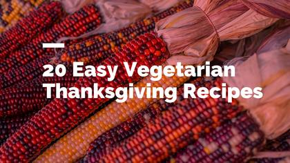 Vegetarian Thanksgiving Recipes