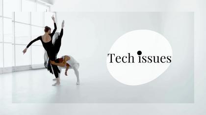Tech Issues — Subtle B/W Theme