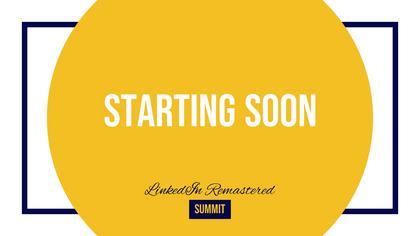 Starting Soon — LinkedIn Remastered Theme