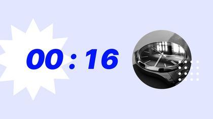 Countdown — Acid Pastel Theme