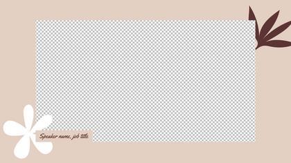 1 Frame Overlay — Coffee Theme