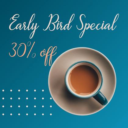 Cafe's Early Bird Special