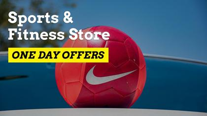 Sports and Fitness Store One Day Offers