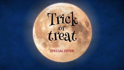 Trick or Treat Store Ad