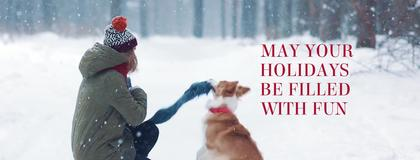 Winter Holidays FB Cover