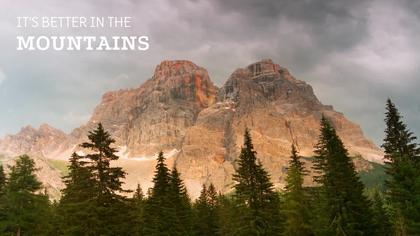 Mountains Virtual Background