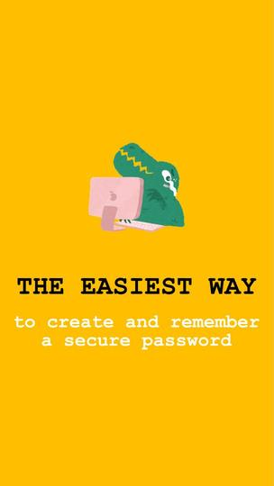 Easy Way to Create a Password